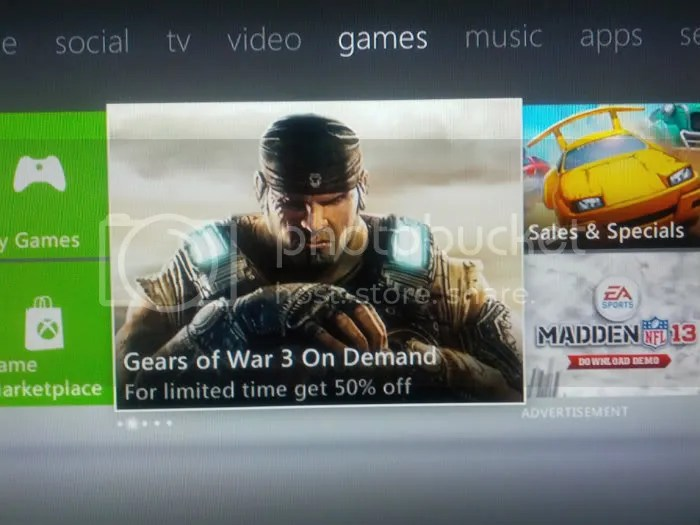 gears of war 3 50% off!