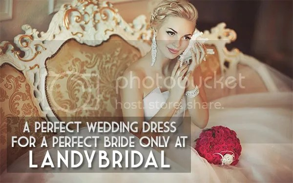A Perfect Wedding Dress For A Perfect Bride Only At LandyBridal