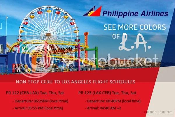 Philippine Airlines' New Service: Non-Stop Cebu - Los Angeles Flights
