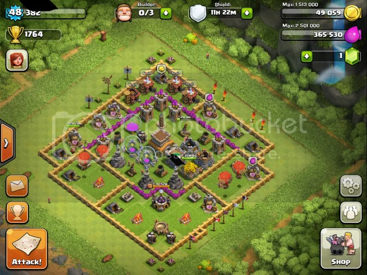Best clash of clans town hall level 8 best coc town hall 8 base layout