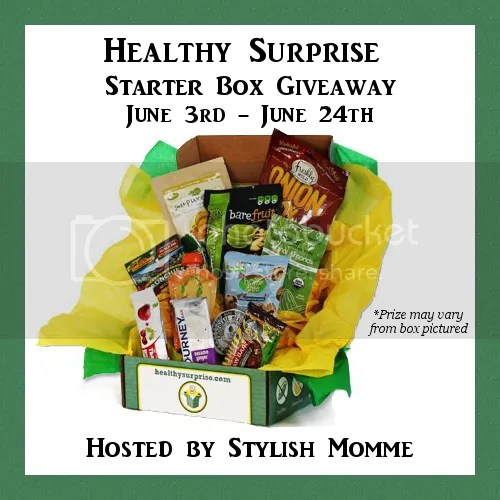 Healthy Surprise #Review + #Giveaway 6/3 - 6/24