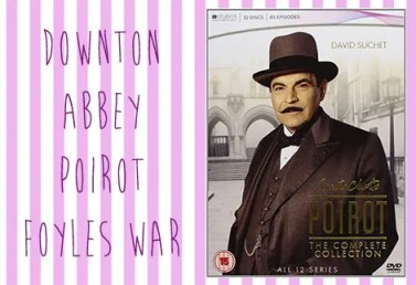Poirot, Downton Abbey, Foyles War | Vintage Frills