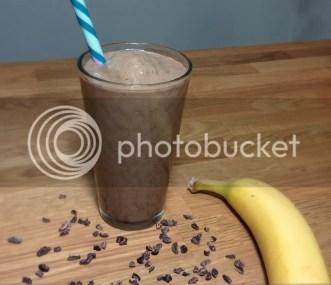 chocolate mocha banana blend