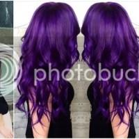 INSPIRATION: Purple hair
