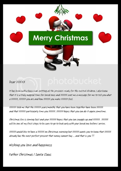 Medium Of Christmas Newsletter Template