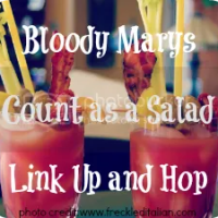 Bloody Marys Count as a Salad Link Up and Hop