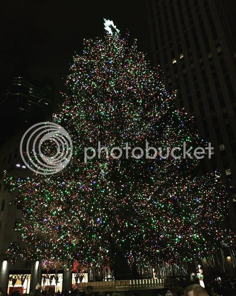 Rockefeller Christmas Tree 2015
