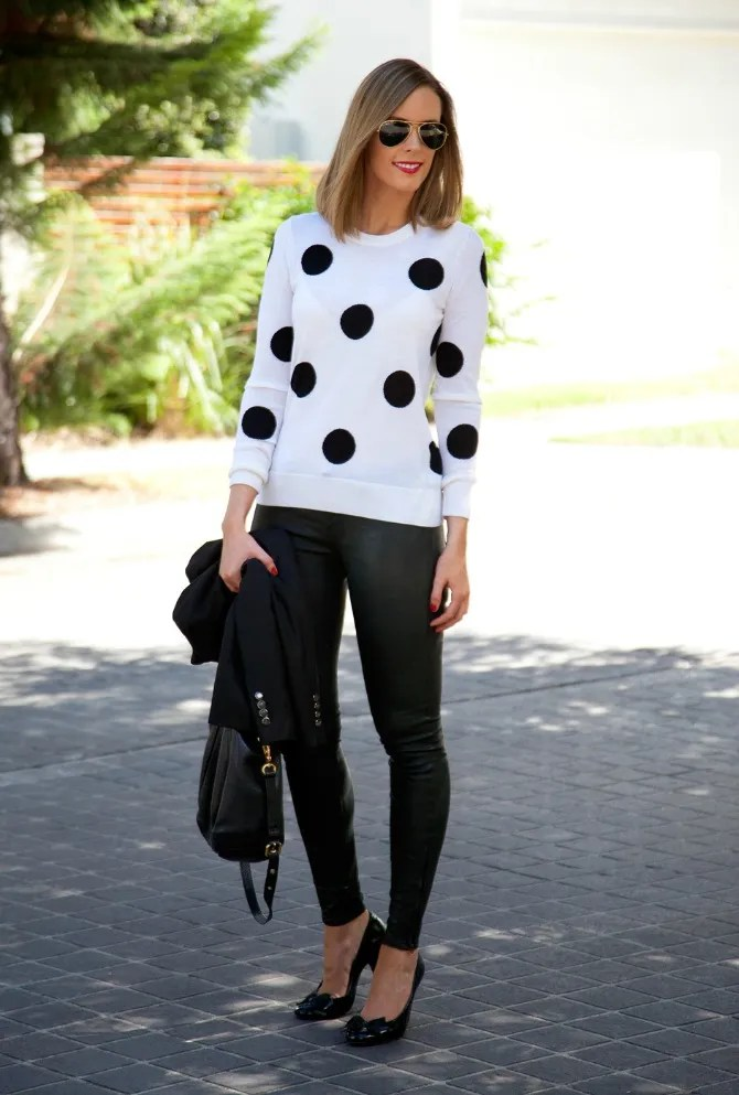2 zps8886cc86 Style Sessions Fashion Link Up   Leather Pants and Polka Dots