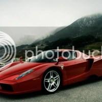 Ferrari Enzo on road car images for wallpaper