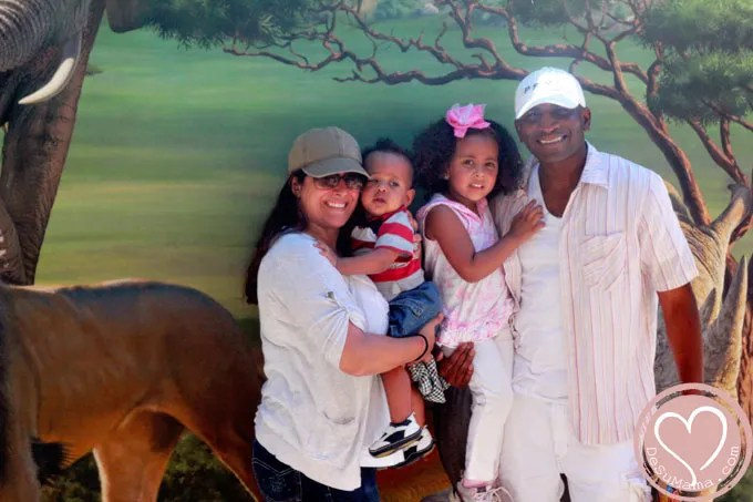 travel legacy, family legacy, san diego wild animal park, san diego, san diego safari park, mixed family travel, biracial baby, african american travel