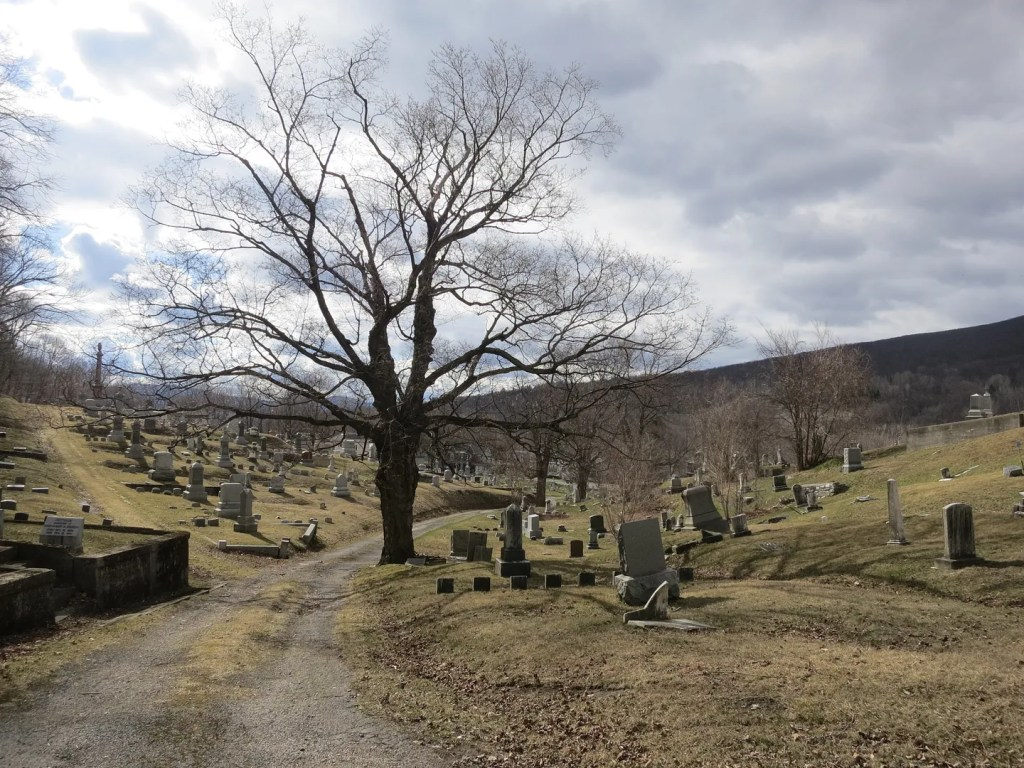 My favorite vacation photos - burial ground in North Adams, Massachusetts