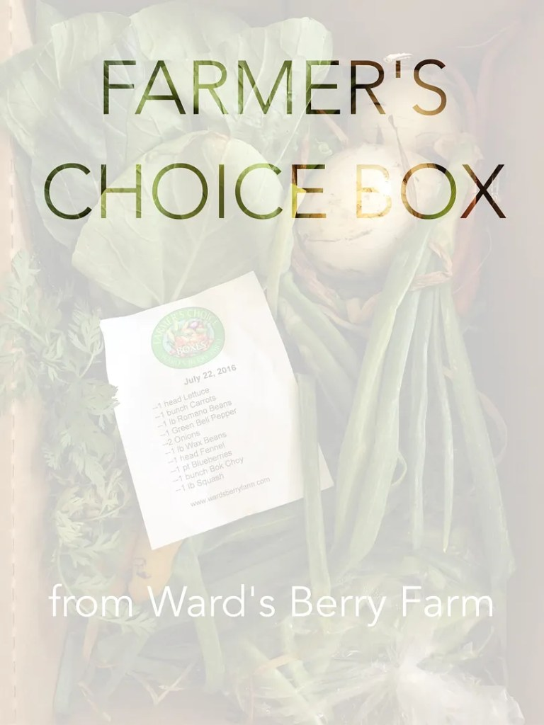 farmer's choice box ward's berry farm