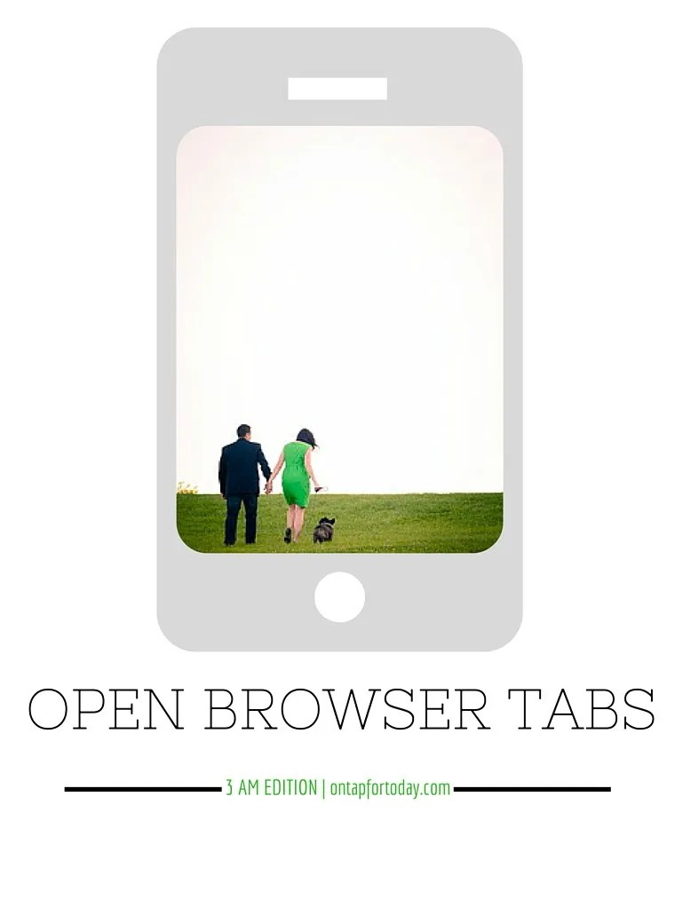 open browser tabs