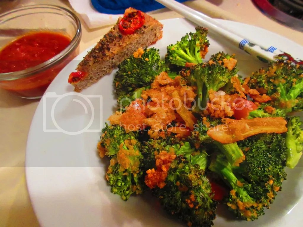 chips kitchen table bakers Crispy Broccoli made with Kitchen Table Bakers Parmesan Mini Crisps