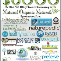 How #BigGreenGiveaway helps with Living Green, Healthy & Organic.