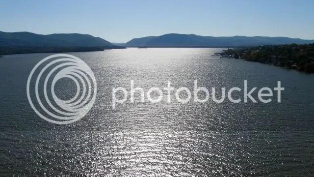 Hudson River view from Hamilton Fish bridge, Beacon - Newburgh, New York