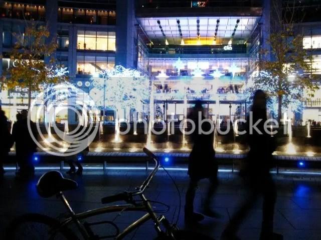 my bike and jozz at Columbus Circle