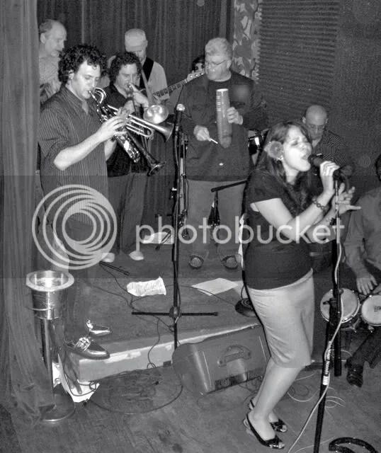 Spanglish Fly performing at Rose, Brooklyn