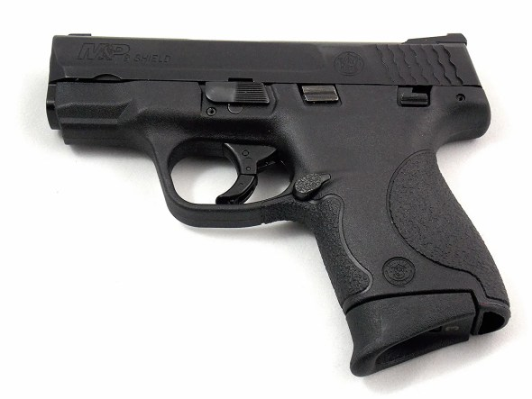 The author's M&P Shield 9mm