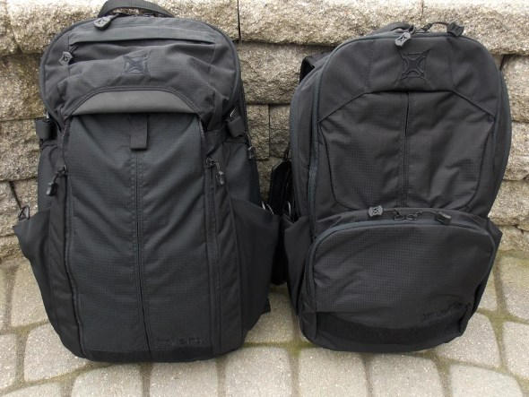 Vertx EDC Gamyt (left) and Vertx EDC Ready Pack (right)