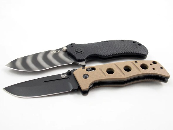 The Zero Tolerance 0303 and Benchmade Adamas