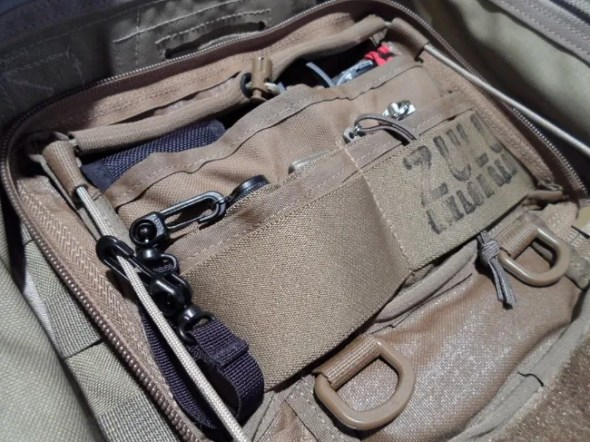 The Zulu Nylon Gear Mega Admin Pouch