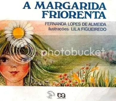 A capa do meu primeiro livro, escrito por Fernanda Lopes de Almeida.
