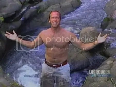 Mike Rowe Shirtless