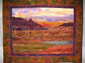 strip quilting,landscape quilt