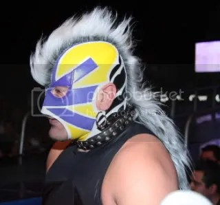hes really growing it out/CMLL