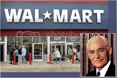 Sam Walton founder of Wal-Mart