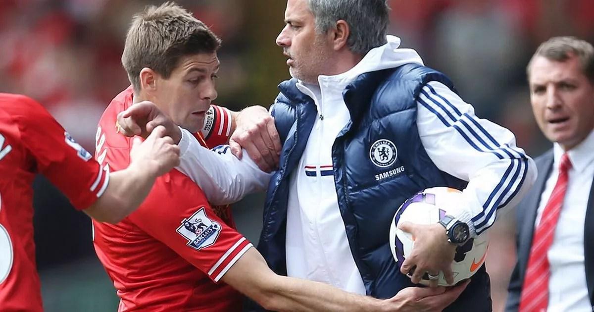 Image result for mourinho fight