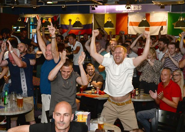 What are the lyrics to Three Lions  It s Coming Home   Turns out we     Football fans celebrate beating Colombia on penalties during the Colombia v  England World Cup knockout match