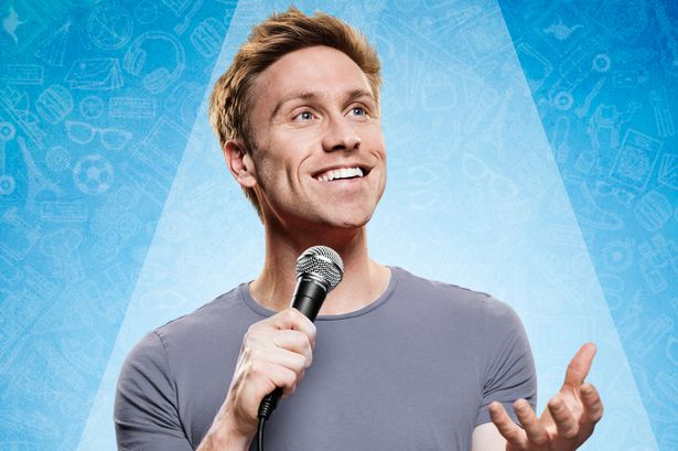 Comedian Russell Howard explains why he was going to attend funeral     Russell Howard is very funny  Image  Handout