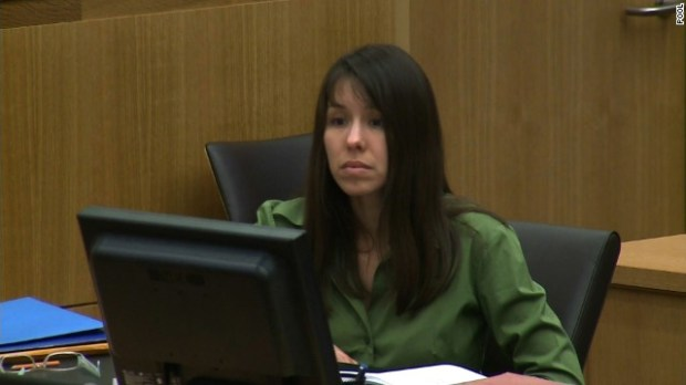 Arias faces the possibility of being convicted of first-degree murder, which could lead to at least 25 years in prison or the death penalty, or second-degree murder, with a 10- to 22-year jail sentence. Arias could be found not guilty because she acted in self-defense, deeming her actions reasonable.