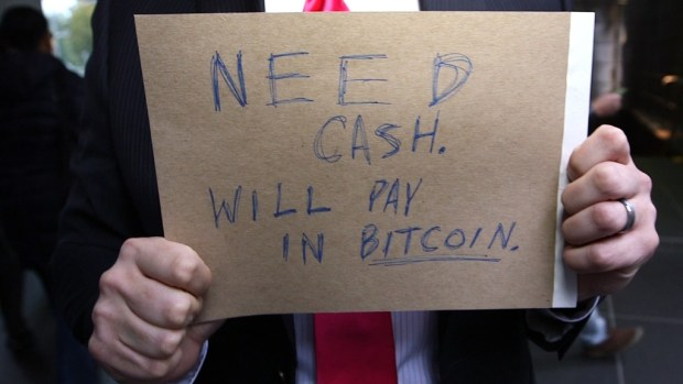 I lived on bitcoin for 24 hours