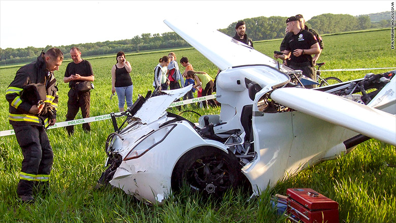 aeromobil crash