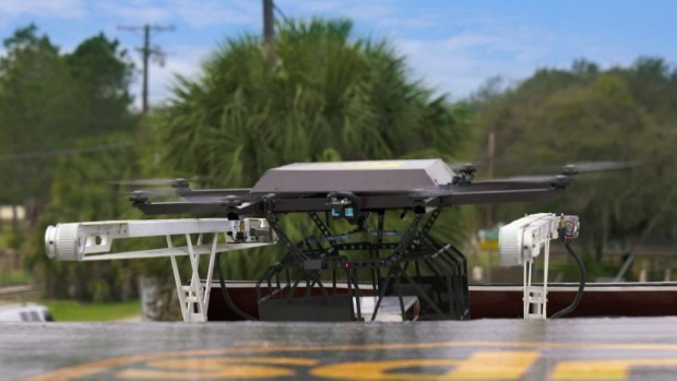 Your UPS driver may come with a drone