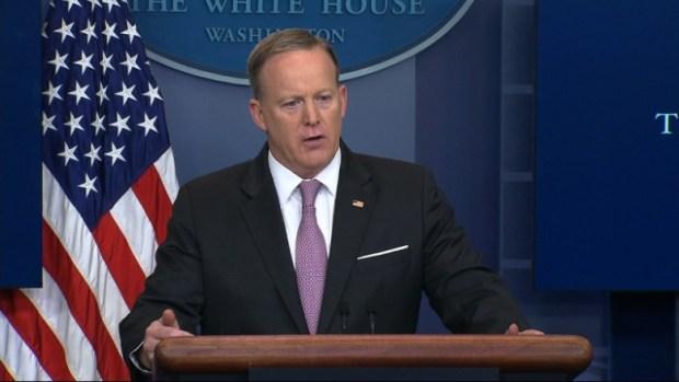 Sean Spicer press briefing afghanistan