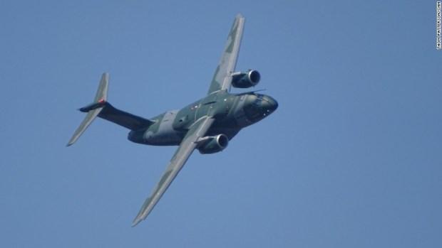 embraer kc390 military transport jet