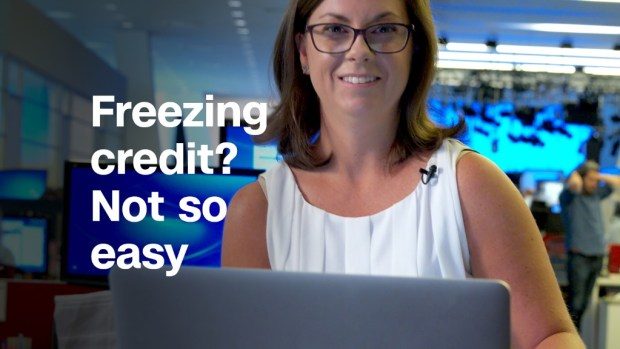 Freezing your credit after Equifax hack...not so easy