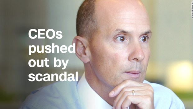 These CEOs were pushed out by scandal
