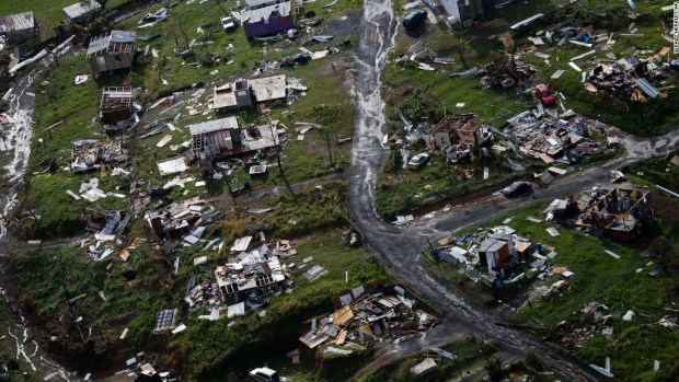 Puerto Rico one month after Hurricane Maria