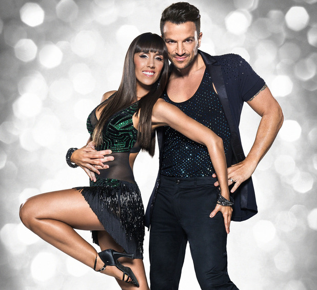Peter Andre, Janette Manrara on Strictly Come Dancing