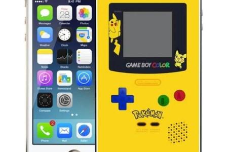 coque iphone 5c game boy color pokemon jaune