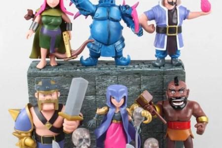 8 pieces clash of clans figs coc jeu jouets p