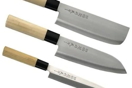 3 couteaux de cuisine onais