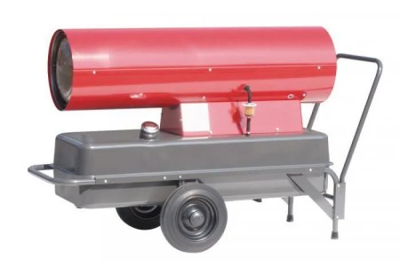 generateur d air chaud au fuel a combustion dir