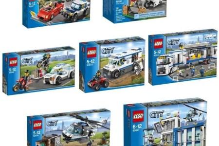 lego city pack les policiers et bandits