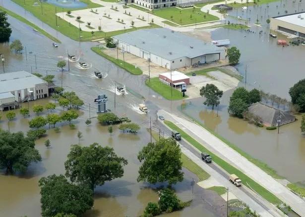 Floods in Louisianna